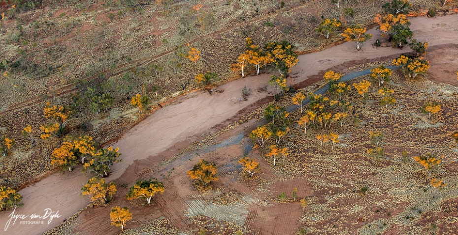 Dry river bed Alice Springs Finke River