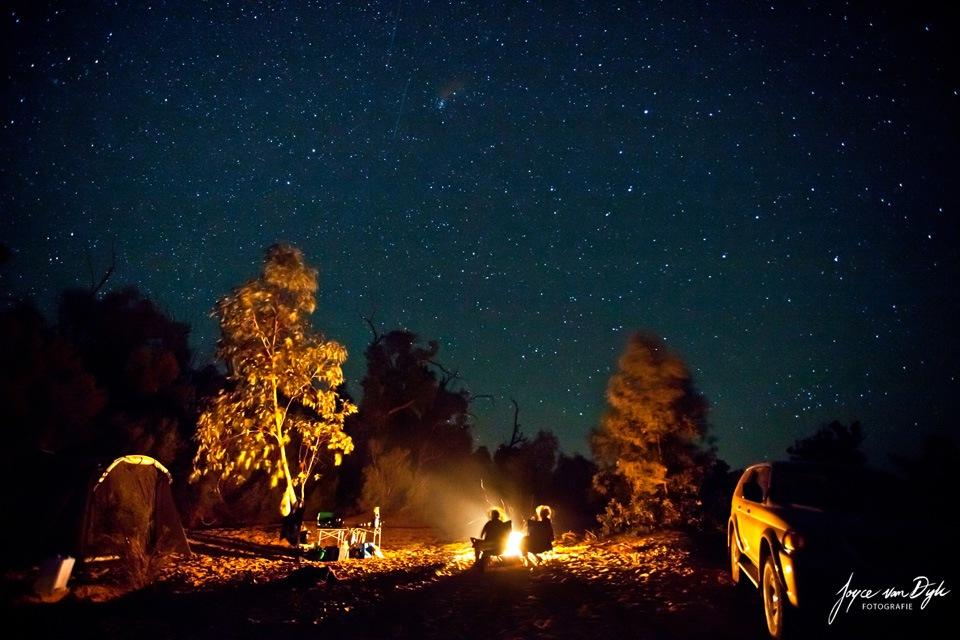 Camping-out-bush