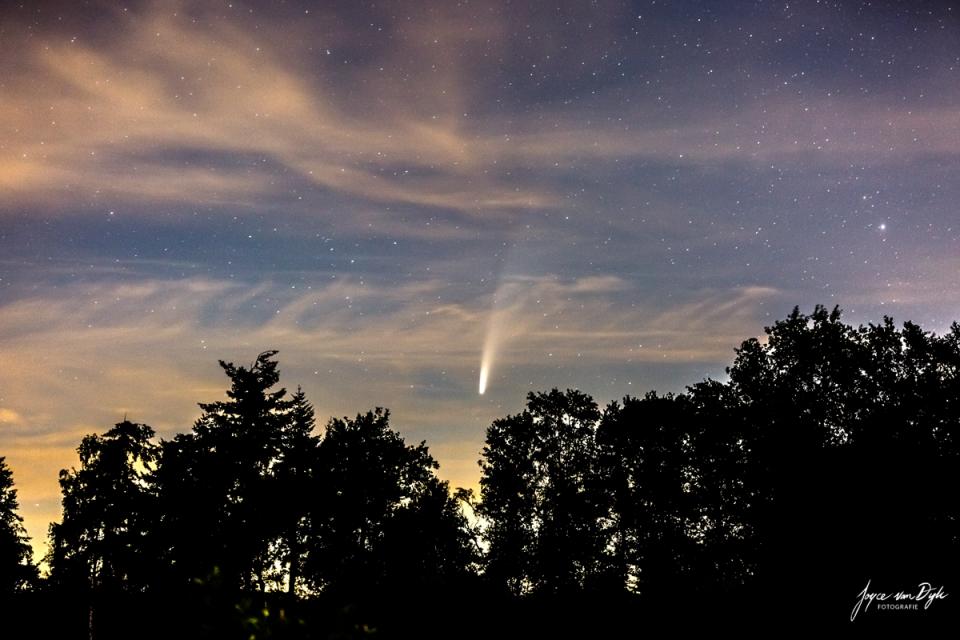 Comet-Neowise-Netherlands-by-Joyce-van-Dijk-1